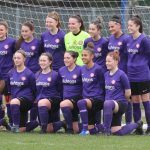 Wymondham Town Football Club Ladies 1st Team in action