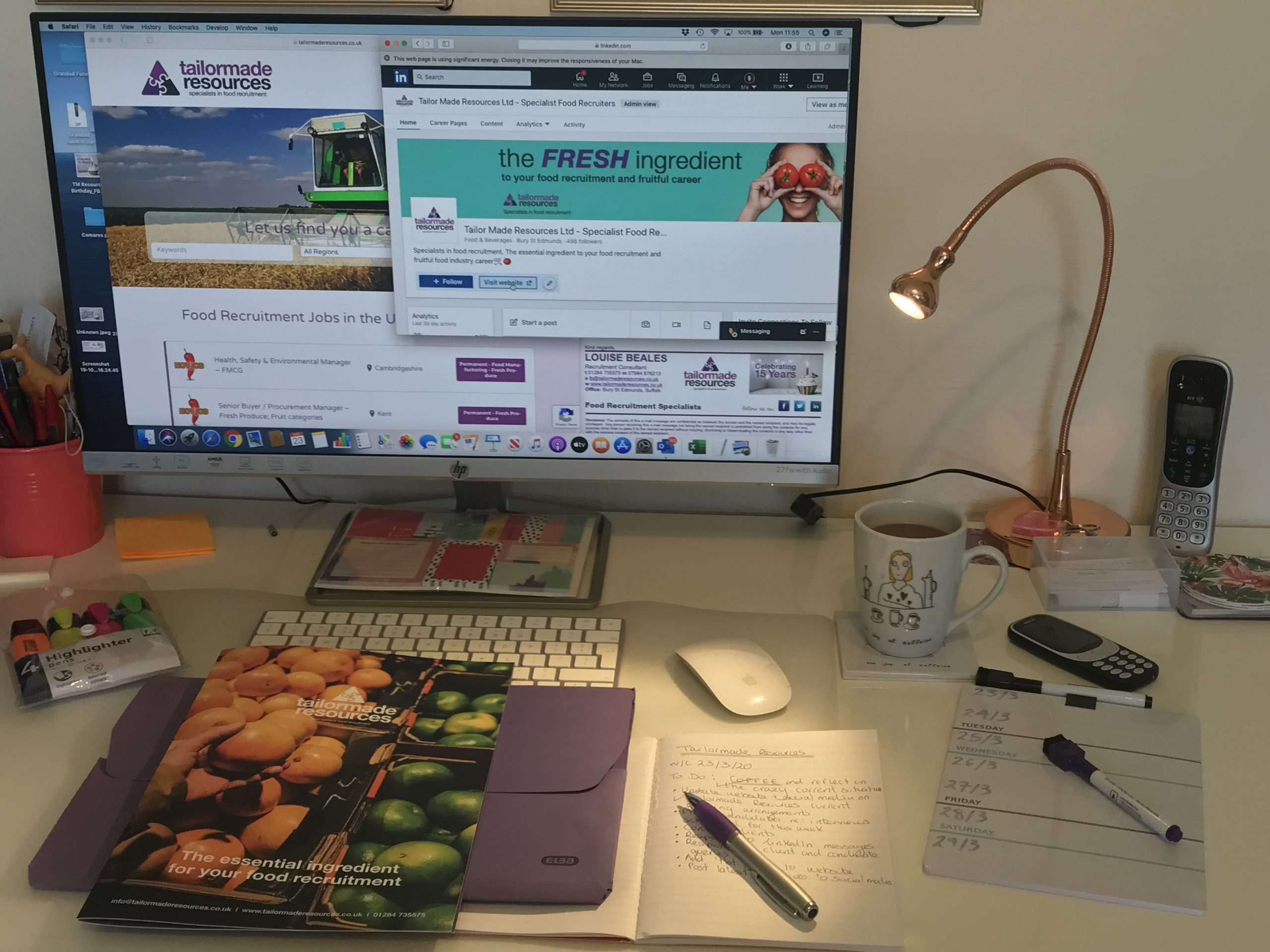 Tailormade Resources Working from home